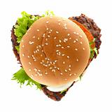 hamburger heart