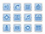 media icon set