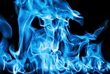 blue fire