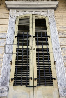 Old Window in French Quarter