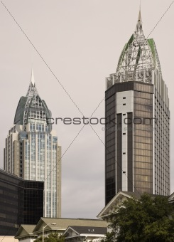 Skyscrapers in Mobile