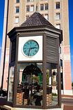 Clock in downtown of Pensacola