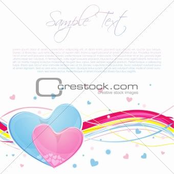 classic valentine card