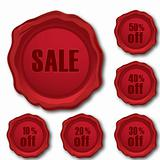sale and discount stamps