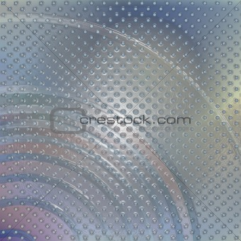 Abstract background with nacreous textured surface.