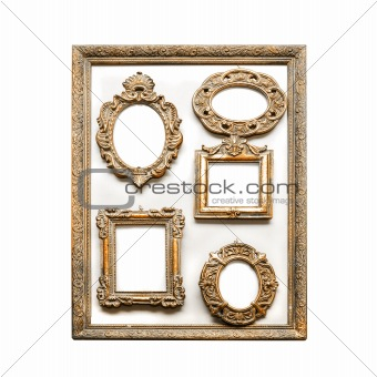 antique golden frames