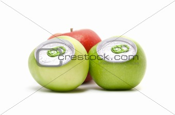 aluminum apples