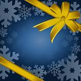 Christmas gift, ribbon, bow