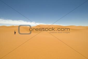 Steps in the desert