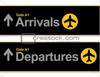Arrival and departures