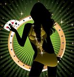 Poker lady