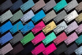 paint strokes pattern