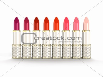 Palette of Luxury Lipsticks
