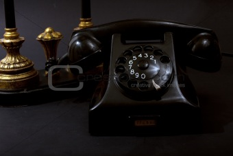 Antique Telephone Still Life