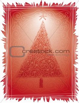 Folk Christmas Tree