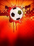 Soccer poster. EPS 8