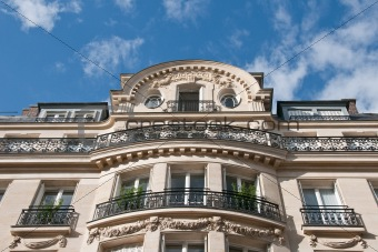 Upper Floors of Parisian Apartment Building