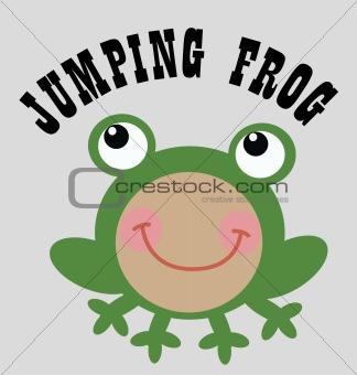 a cute frog