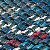 Field of cars