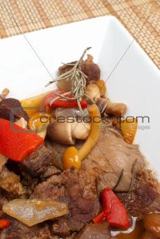 Mushroom goulash