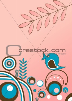 Abstract nature design  . Vector Illustration