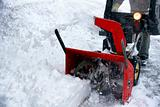 Snowblowing