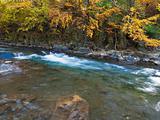 Rocky Autumn River