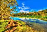 Telaga Warna lake