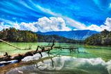 Telaga Warna lake