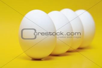 Four Hen's Eggs
