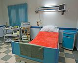 ICU ward in a medical center
