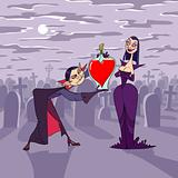 Valentine's Night of vampire