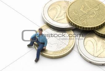 Sitting on Euros