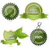 100% natural tags