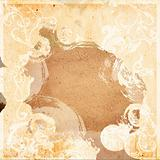 floral style textures and backgrounds frame