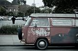 Hippie Van in San Francisco