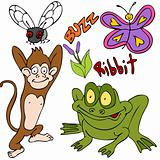 Bugs Animals Plants