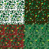 Seamless Leaves Patterns