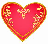 Valentine heart, pictogram