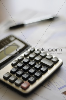 calculator and numbers