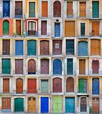 mage of colored doors, Barcelona - Vol 2