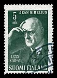 Sibelius on a stamp