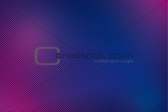 Abstract color vector halftoned background