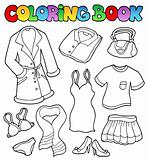 Coloring book dress collection 1
