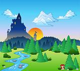 Fairy tale landscape 1