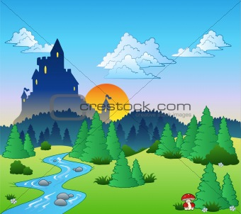 Fairy tale landscape 1
