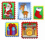 Various Christmas post stamps 2