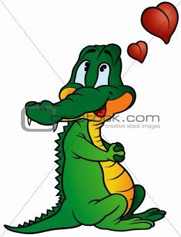 Amorous Crocodile