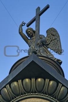 Angel atop the Alexander Column