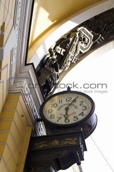 Old-style Public Clocks